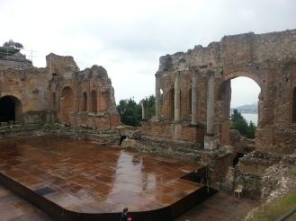 Taormina. Anfiteatro.