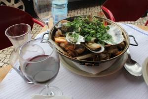 La delizioza Cataplana! il piatto tipico dell'Algarve