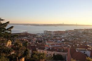 La città vista dal Castelo de S.Jorge